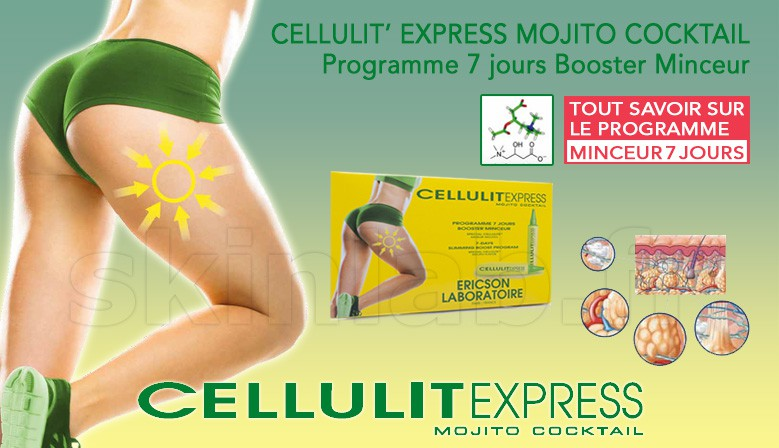 Cellulit' Express Mojito Cocktail