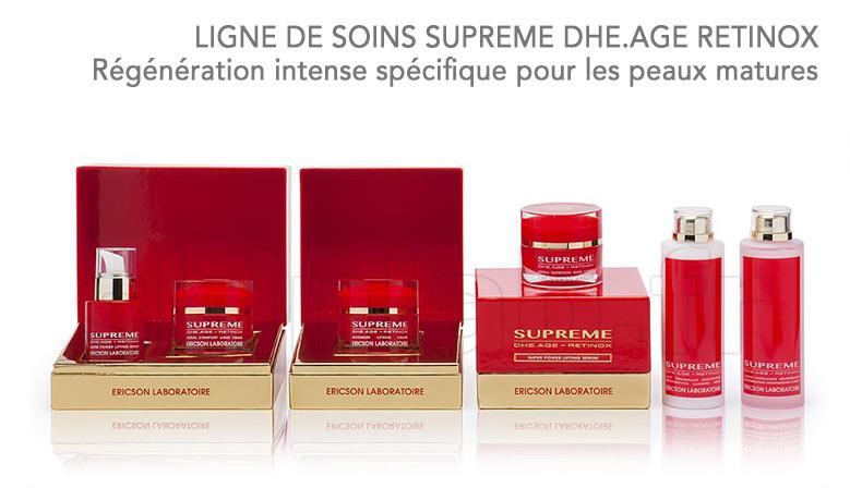 Régénération intense spécifique pour les peaux matures : SUPREME DHE.AGE RETINOX