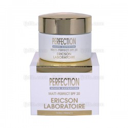 Matt-Perfect Perfection E666 Ericson Laboratoire - Crème éclaircissante et matifiante - Pot 50ml
