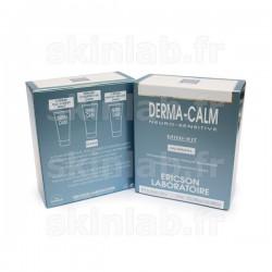 Mini-Kit Derma Calm D656 comprenant D657 Crème No-Stress D658 Sérum Couperose D662 Crème Night Relax Ericson Laboratoire - 3 Tub