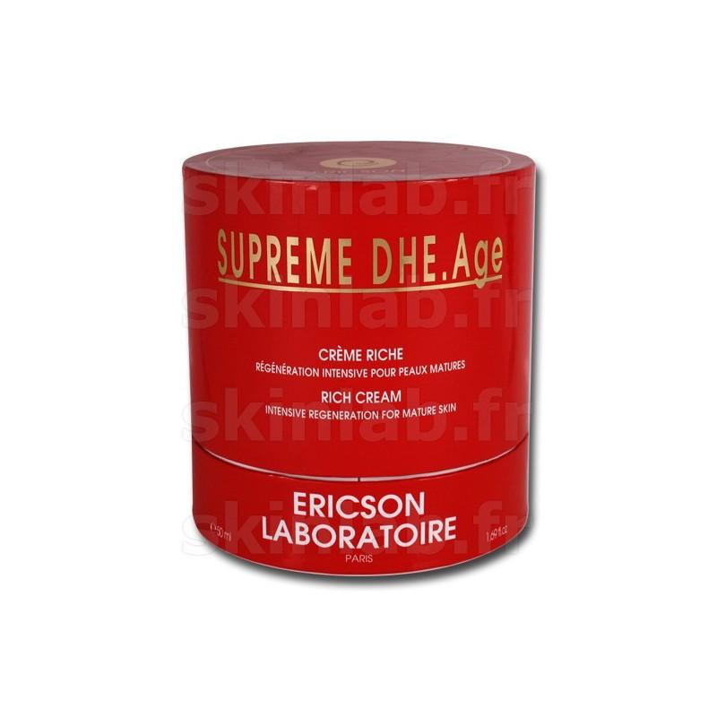 Crème Riche SUPREME DHE.Age E296 Ericson Laboratoire - Pot