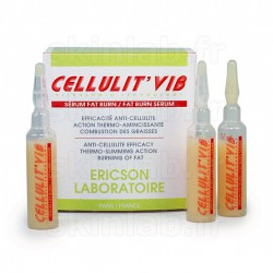 Sérum Fat Burn Cellulit'Vib E785 Ericson Laboratoire - 12 Ampoules 10ml