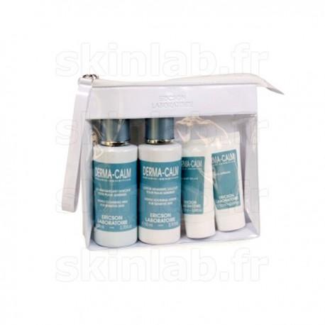 Travel Kit Derma-Calm T1034 Ericson Laboratoire comprenant T1035 T1036 T1037 - 4 mini produits