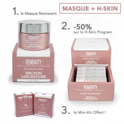 1 Masque Reviviscent E763 Feminity -50% sur le H-SKIN Program E765 Feminity Ericson Laboratoire