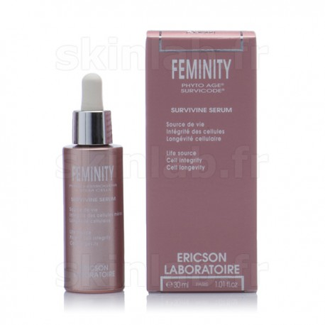 Sérum Survivine Feminity E764 Ericson Laboratoire - Compte-goutte 30ml