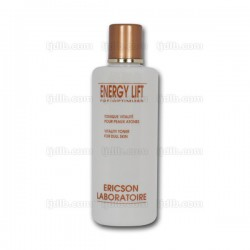 Lotion Tonique Vitalité ENERGY LIFT E560 Ericson Laboratoire - Peaux atones - Flacon 250ml