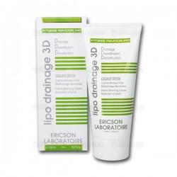 Cellulit Detox E818 Lipo Drainage 3D Ericson Laboratoire - Crème minceur forte - Tube 150ml