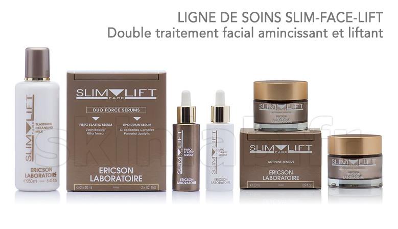 Double traitement facial amincissant et liftant Slim-Face-Lift !