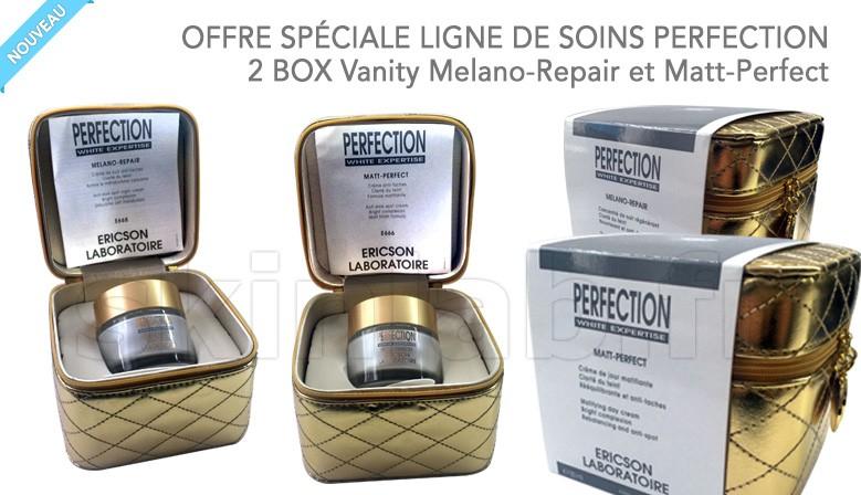 2 BOX Vanity Melano-Repair et Matt-Perfect !