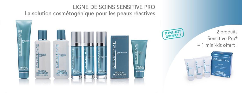 Solution cosmétogénique pour les peaux réactives.