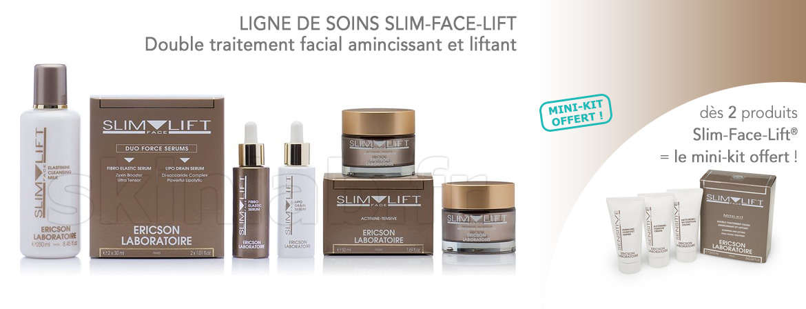 Double traitement facial amincissant et liftant Slim-Face-Lift !