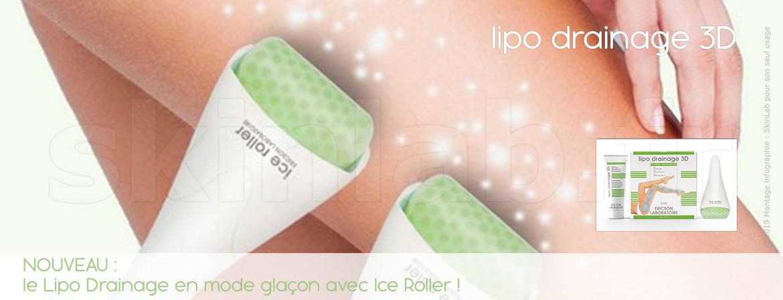 NOUVEAU :  le Lipo Drainage en mode glaçon avec Ice Roller !